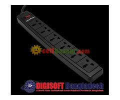 American#1 Fire Proof Surge Protector, 6 ways/oulets-01 Year Warranty