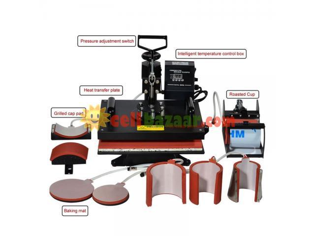Combo Heat Press 8/1 Machine - 1/1