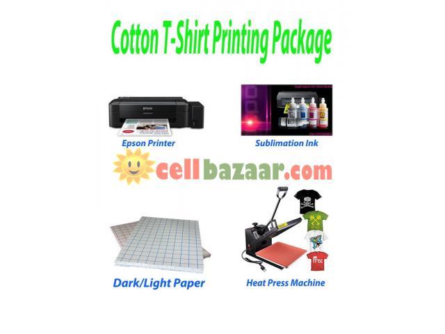T-Shirt Heat Press Machine Package - 1/1
