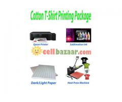 T-Shirt Heat Press Machine Package