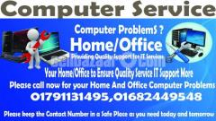 Computer Service Provided Home/Office
