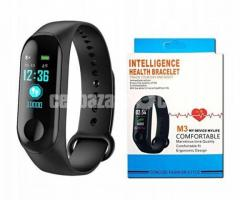 M3 Smart Wristband Fitness Bracelet (New) (Free Delivery)(Fixed Price)