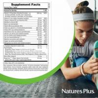 NaturesPlus Hema-Plex Sustained Release - 85 mg Elemental Iron 30 Vegetarian Tablets