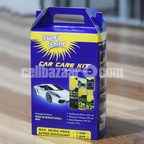 Super Shine CAR CARE KIT - 1/5