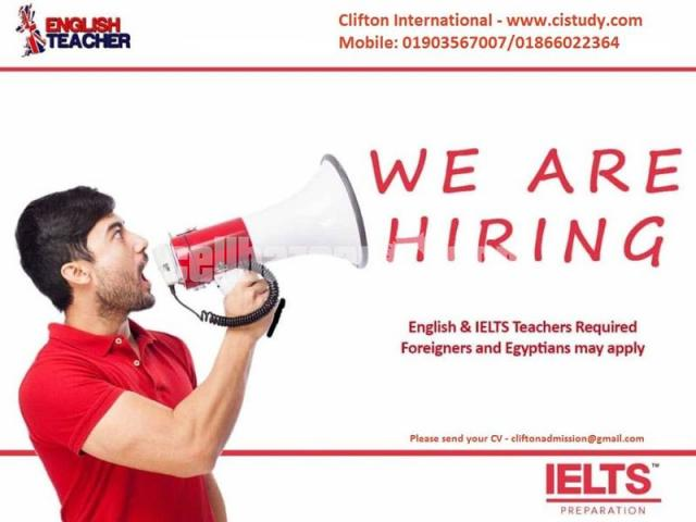 Looking for an IELTS Instructor. - 1/1