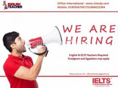 Looking for an IELTS Instructor.