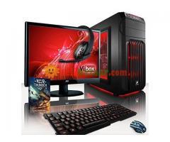 "GAMING Desktop Core i3 4GB RAM 320GB HDD 17""LED"