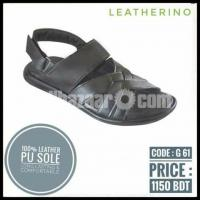 GENTS SANDAL (100℅ Leather) code G 61
