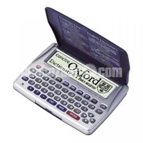 Seiko Concise Oxford Dictionary Thesaurus and Spellchecker - 2/5