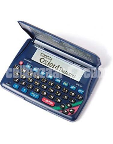 Seiko Concise Oxford Dictionary Thesaurus and Spellchecker - 4/5