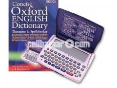 Seiko Concise Oxford Dictionary Thesaurus and Spellchecker - Image 5/5