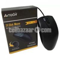 Brand New Optical Wired Mouse - A4 tech
