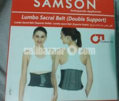 Samson lumbo sacral belt(double support)