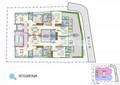 1460 sqft exclusive flat for sale at Nakhal Para. - Image 3/4