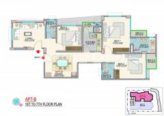 1460 sqft exclusive flat for sale at Nakhal Para. - Image 4/4