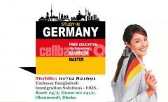 জার্মানিতে ফুল ফ্রি তে উচ্চশিক্ষা - Study Work & Settle in GERMANY