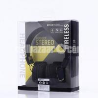 BT - 019 Foldable Stereo Bluetooth Headset - Black