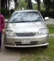 X Corolla 2001