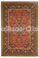 Auburn Medallion Woolen Carpet - Rugs and Beyond - Image 1/2