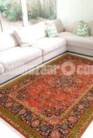 Auburn Medallion Woolen Carpet - Rugs and Beyond - Image 2/2