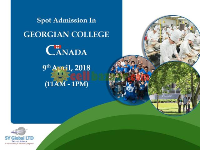 Spot admission in CANADA - 1/1