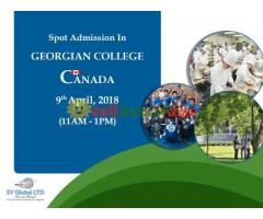 Spot admission in CANADA