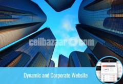 Dynamic and Corporate Website
