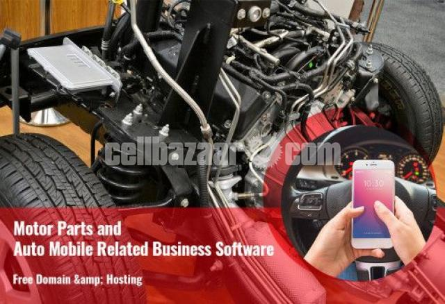 Motor Parts and Auto Mobile Related Business Software - 1/2