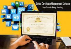 Digital Certificate Management Software