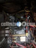 MoB Combo Asus h81M-K with 4th gen i3 & team 6GB gaming Ram