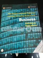 Cambridge A Level Business coursebook