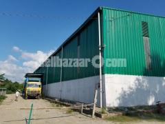 25000sqft shed for rent at gazipur kaligonj