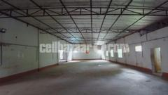 10000sqft shed for rent at uttara