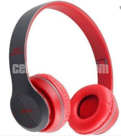 P47 - Wireless Bluetooth Headphone Multicolor - 2/3