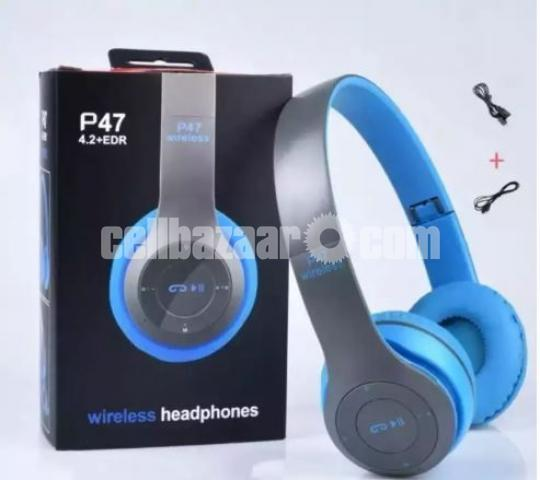 P47 - Wireless Bluetooth Headphone Multicolor - 3/3