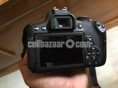 Canon EOS 750D with 50mm prime lens