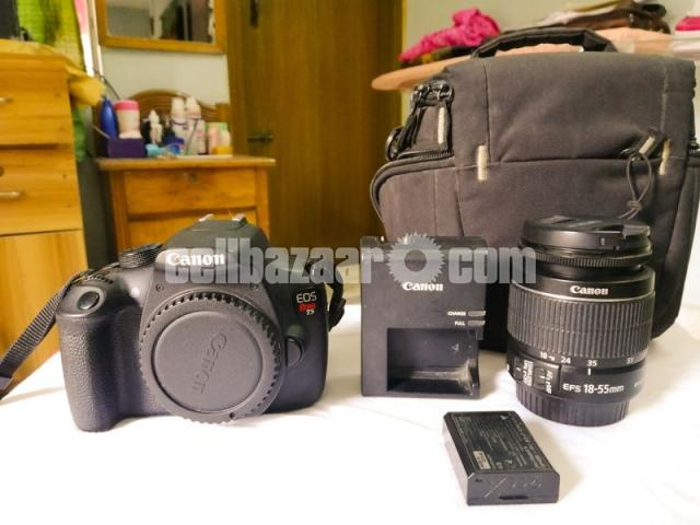 Canon Eos Rebel T5 18mp Dslr Camera With 18 55mm Lens Kit