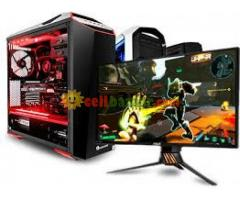"10% Discount- FULL GAming PC 19""LED 3yrs"