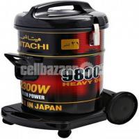Hitachi Vacuum Cleaner 2300 Watts 21 Liter Drum Capacity CV9800Y