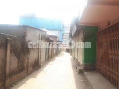 Polash Narsinghdi land with 2 storied building Notun Bazar Polash.