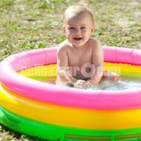 "Intex Inflatable Baby Bath Tub Swimming Pool 34"" (Multicolor)"