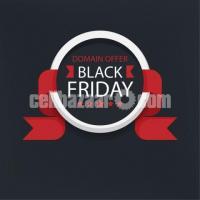 Black Friday ডোমেইন অফার - মাত্র ৫৯৫ টাকা!