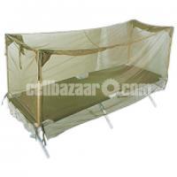Single Person Army Mosquito Net-Khaki