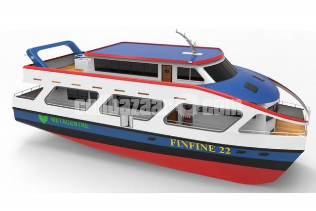 Finfin  A catamaran Passenger Vessel - 2/2