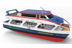 Finfin  A catamaran Passenger Vessel