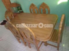 Shegun kater table