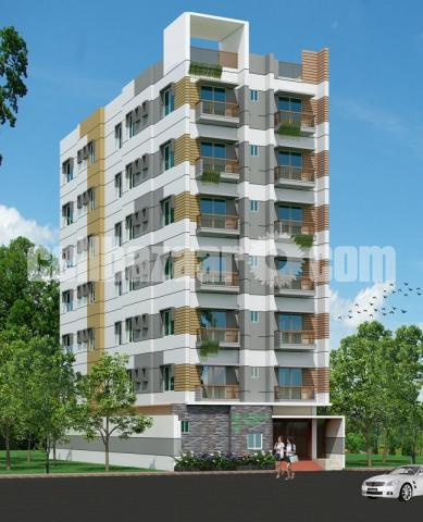 Apartment at Shibbati , Bogra. - 1/5