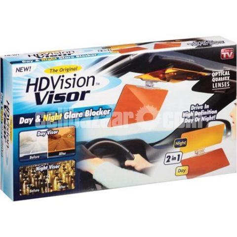 Universal HD Vision Anti-Glare Car Visor - 1/5
