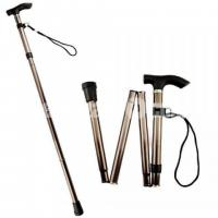 Portable Stainless Steel Folding Walking Stick