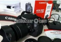 canon 700 D japan body with 18-55 IS lens